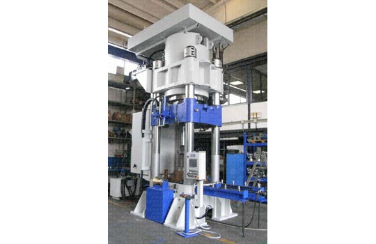 PRESSES FOR MANUFACTURING STAINLESS SQUARE PIPES - AEM3