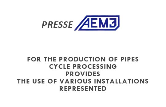 production of pipes - AEM3